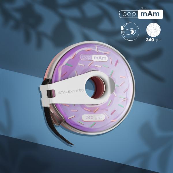 Сменный файл-лента в пластиковой катушке STALEKS PRO 240 грит