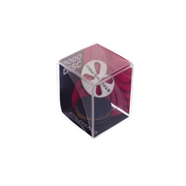 Диск педикюрный PODODISC STALEKS PRO L в комплекте с сменным файлом 180 грит 5 шт (25 мм)