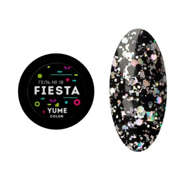 Гель-лак YUME Fiesta №18