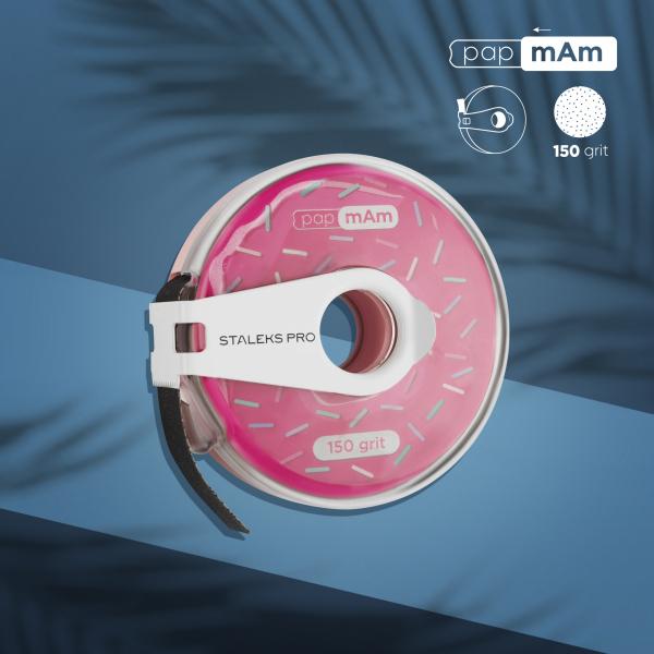 Сменный файл-лента в пластиковой катушке STALEKS PRO 150 грит