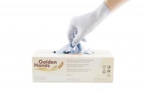 Новинка, перчатки Golden Hands  голубого цвета  по специальной цене!