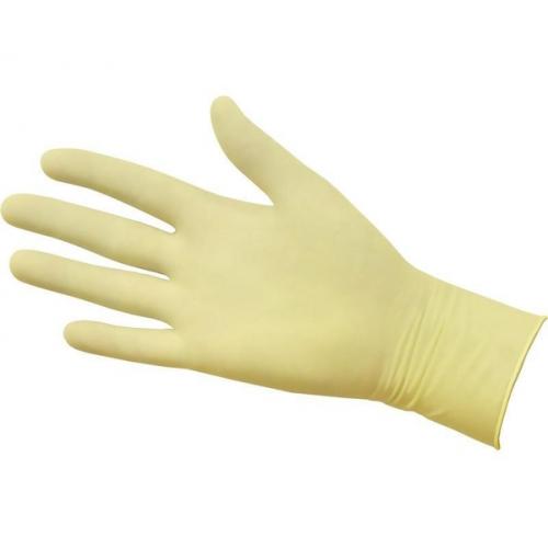 Перчатки латексные неопудренные