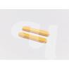 Губки пресованные гладкие (Целлюлоза, желтые, 7 см, 12 шт/упк)