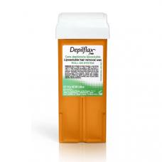 Воск Depilflax Морковный (широкий ролик, 1 кассета)