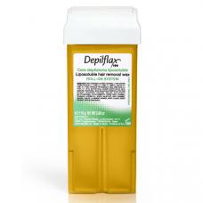 Воск Depilflax Натуральный  (широкий ролик, 1 кассета)