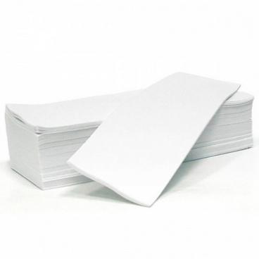 Полоски для депиляции люкс Чистовье (Флизелин, белый, 7,5х20 см, 100 шт/упк)