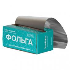 "Фольга 18 мкр 12 см х 100м серебро ""Чистовье"" в коробке"