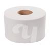Туалетная бумага 2-х слойная белая, 160 м.(1рулон)/12 шт./упак.