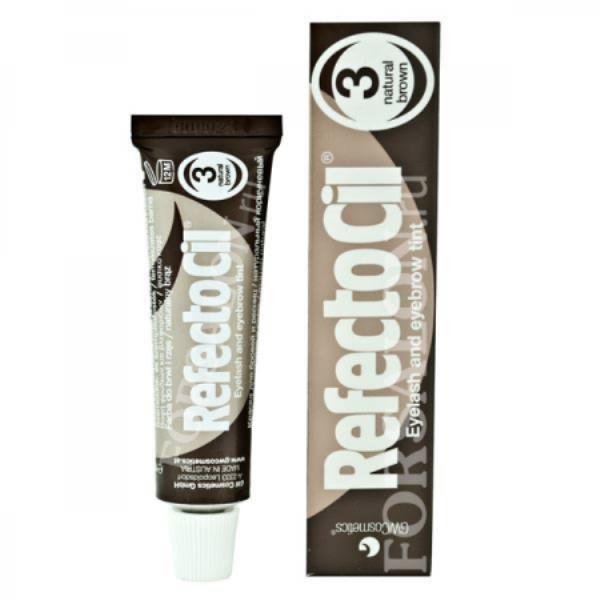 Краска для бровей и ресниц RefectoCil №3 (коричневая)