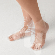 Носки для процедур полиэтилен, 50шт (25 пар) 601-167