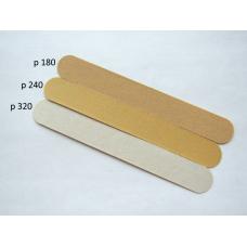 Файлы к КОРОТКОЙ основе подложкой 0 мм, (12 шт/упак.) Грит: 180/240