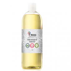 Массажное масло для тела «Зеленый чай»