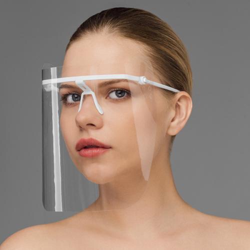 Маска пластмассовая, прозрачная для защиты лица МС-ЕЛАТ МС-5пл